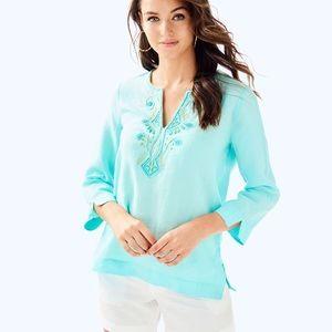 NWT Lilly Pulitzer Amelia Island Tunic Size XS